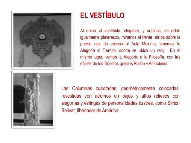 Arquitectura escuela normal de santiago for Definicion de estilo en arquitectura