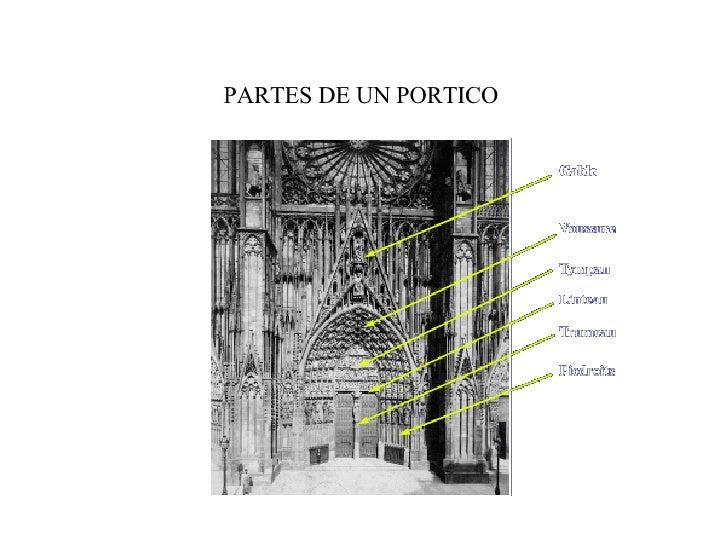 Arquitectura gotica for Arquitectura gotica partes
