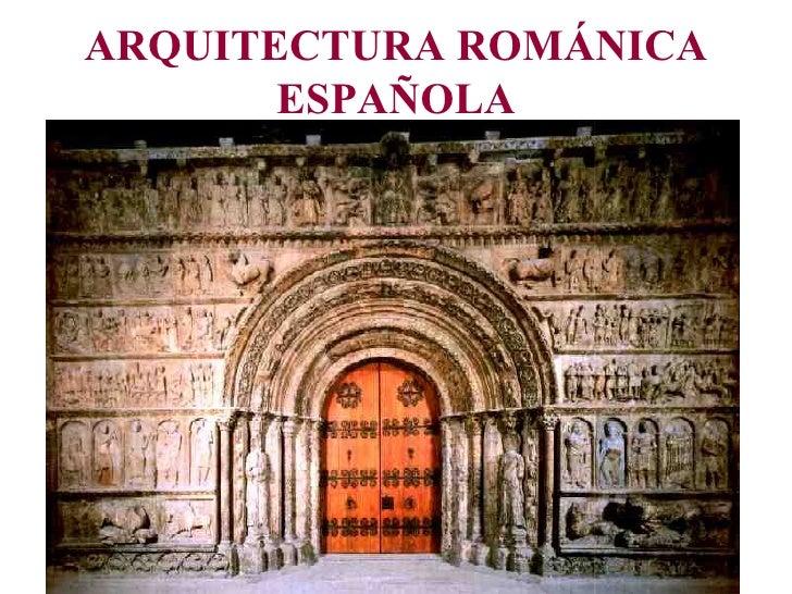 Arquitectura rom nica espa ola for Arquitectura de espana