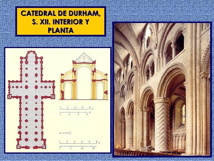 Arquitectura rom nica ii europa for Catedral de durham interior