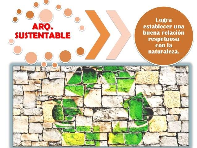 Arquitectura sustentable en armon a con la naturaleza for Arquitectura sustentable pdf
