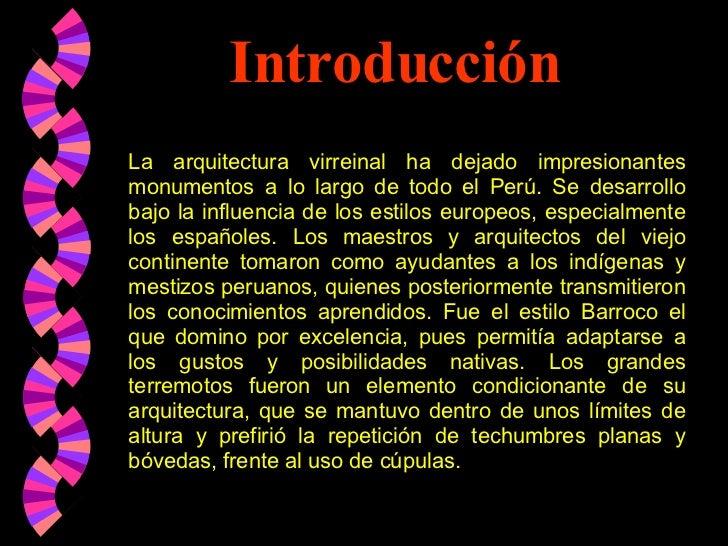 Arquitectura virreynato for Arquitectura que se estudia
