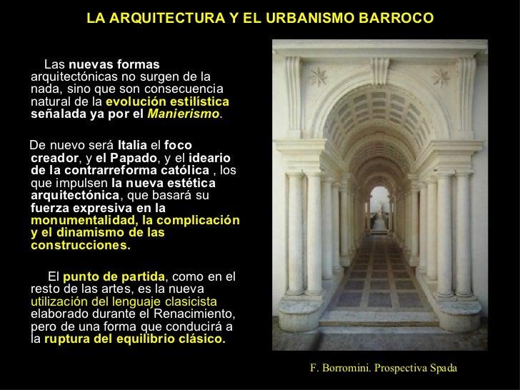 ARQUITECTURA Y URBANISMO BARROCO Slide 3