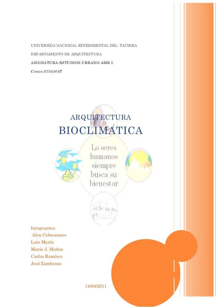 UNIVERSIDA NACIONAL EXPERIMENTAL DEL TACHIRADEPARTAMENTO DE ARQUITECTURAASIGNATURA:ESTUDIOS URBANO-AMB I.C ÓDIGO :0734304T...