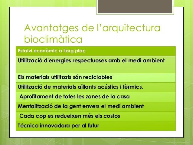 Arquitectura bioclimàtica - photo#43