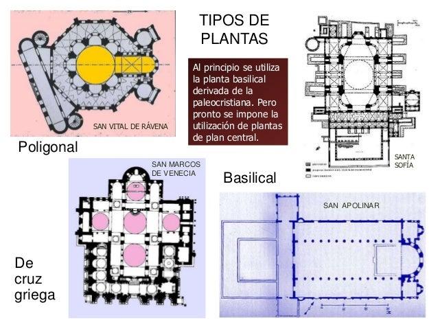 Arquitectura bizantina for Tipos de arquitectura