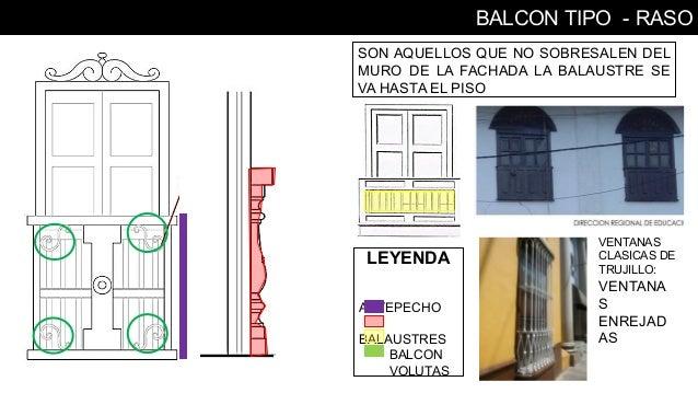Arquitectura civil trujillo pdf for Tipos de toldos para balcones