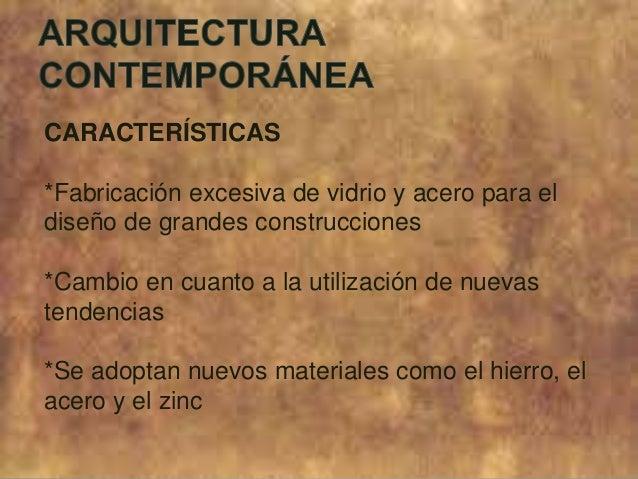 Arquitectura moderna vs arquitectura contempor nea for Arquitectura moderna caracteristicas