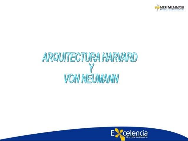 Arquitectura de computadores for Arquitectura harvard