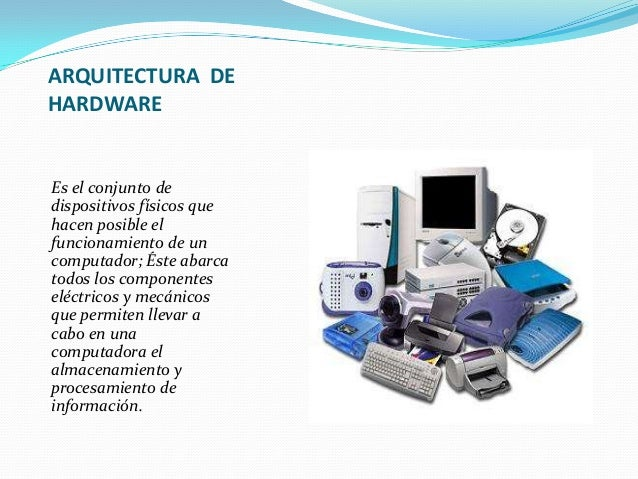 arquitectura de hardware y software 2014