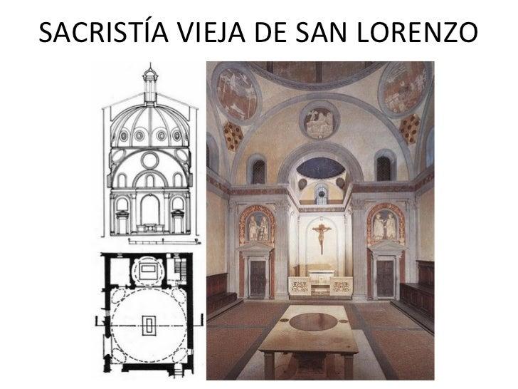 Arquitectura del renacimiento presentaci n for Interior iglesia san lorenzo brunelleschi