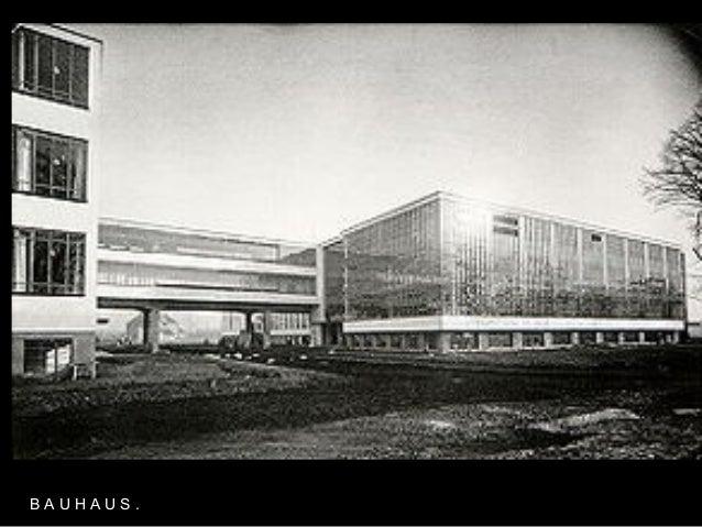 Arquitectura del siglo xx for Bauhaus oficinas centrales
