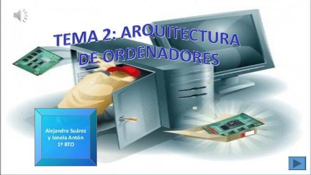 Tema 2 Arquitectura De Ordenadores