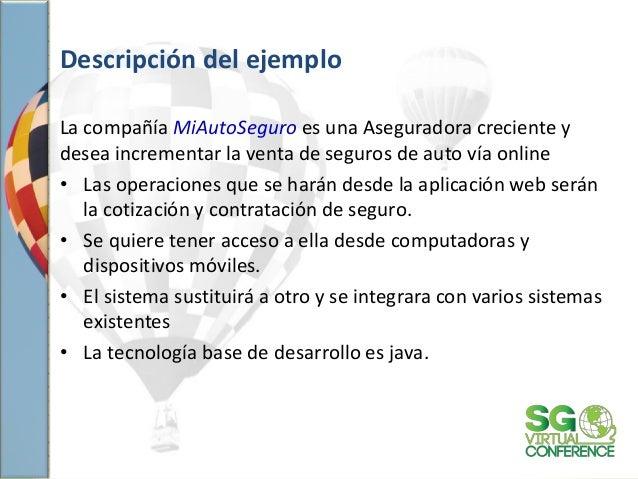 Descripción del ejemplo La compañía MiAutoSeguro es una Aseguradora creciente y desea incrementar la venta de seguros de a...