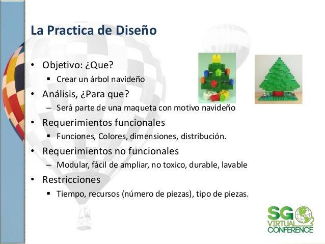 La Practica de Diseño • Objetivo: ¿Que?  Crear un árbol navideño • Análisis, ¿Para que? – Será parte de una maqueta con m...