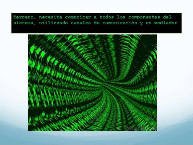 Patrón de mediador (broker)  Patrón para estructurar sistemas  distribuidos usando el  desacoplamiento de componentes  y q...