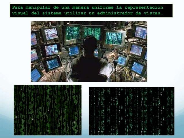 Patrón de Manejador de Vistas  (View Handler)  El patrón ayuda a manejar  todas las vistas que un sistema  de software pro...