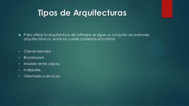 arquitectura de software y generaci n de computadores