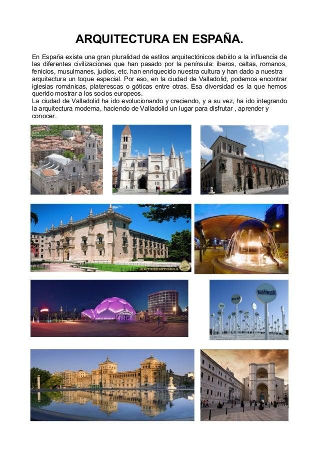 Arquitectura en espa a for Arquitectura de espana