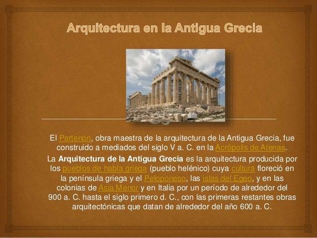 Arquitectura en grecia for Arquitectura de grecia