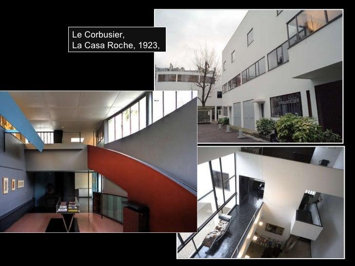 Le Corbusier, La Casa Roche, 1923,
