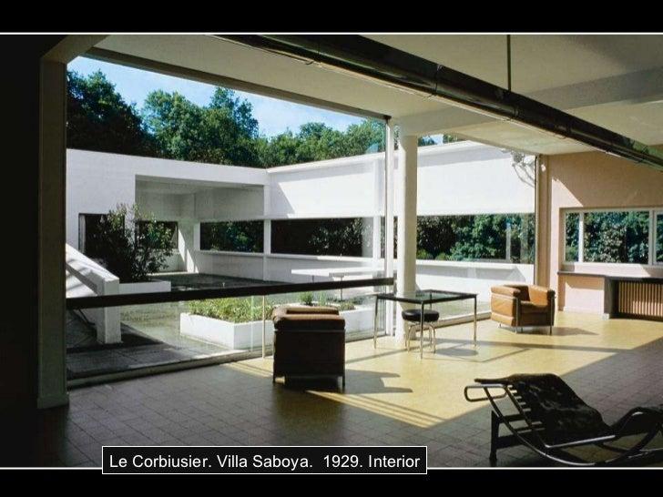 Le Corbiusier. Villa Saboya.  1929. Interior