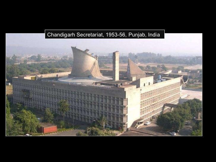 Chandigarh Secretariat, 1953-56, Punjab, India