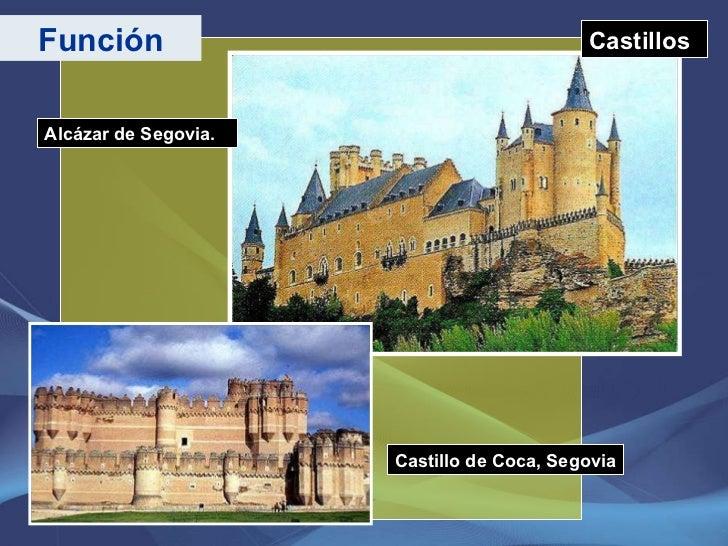 Castillos Función Alcázar de Segovia. Castillo de Coca, Segovia