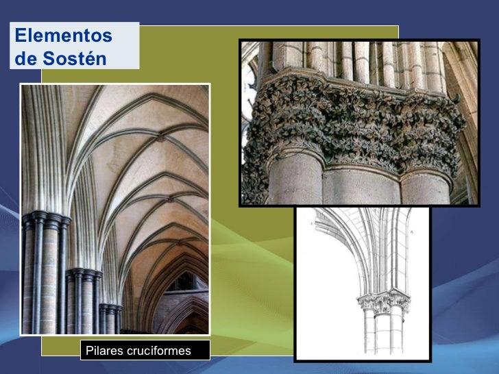 Pilares cruciformes Elementos de Sostén