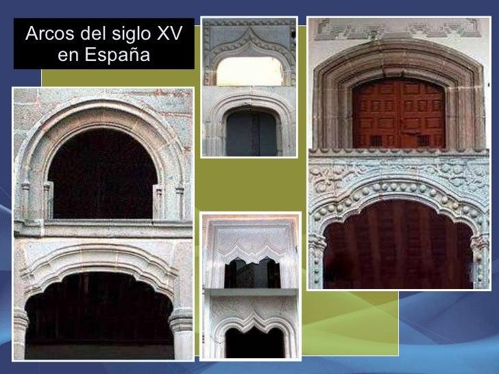 Arcos del siglo XV en España