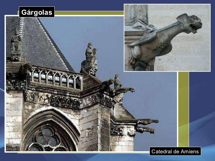 Gárgolas Catedral de Amiens