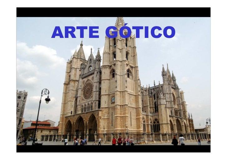ARTE GÓTICOMª Victoria Landa