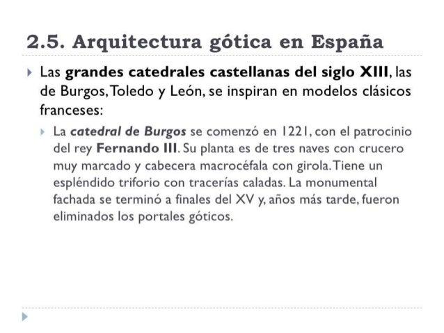 Arquitectura gótica española
