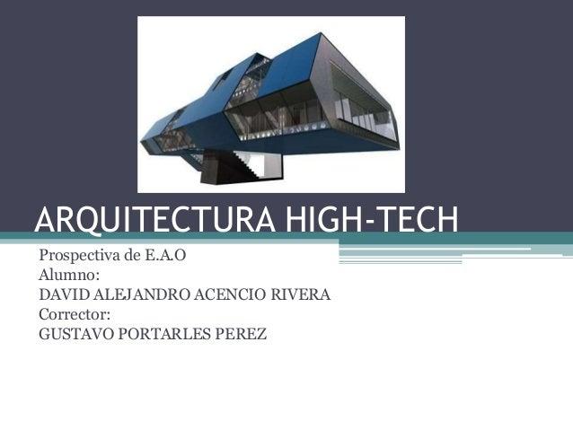 Arqctura high tech for High tech arquitectura