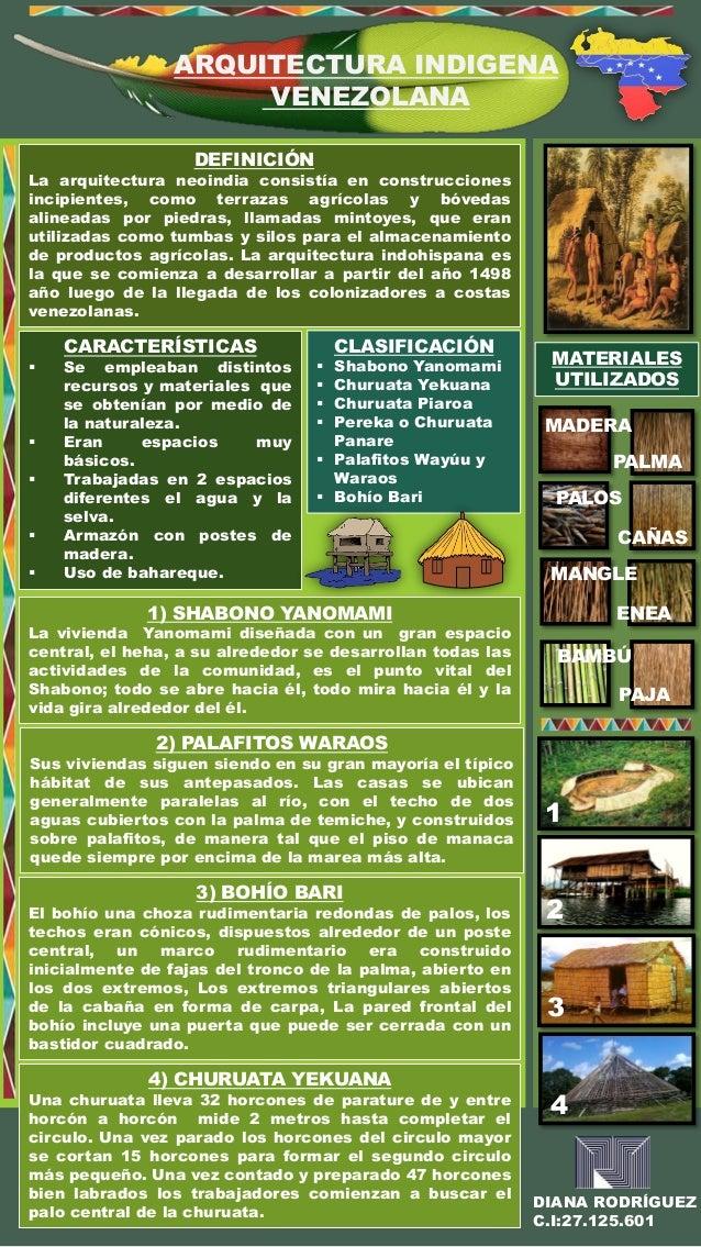 Arquitectura Indigena Venezolana