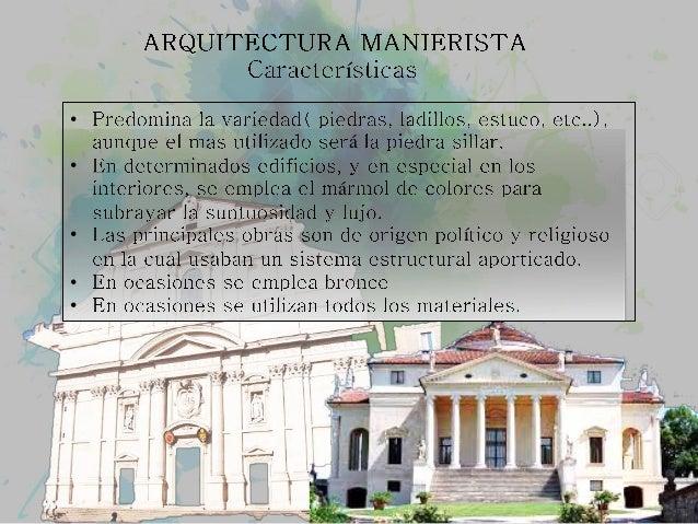 Arquitectura Manierista Rafael Salazar