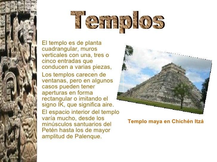 Arquitectura maya for Las construcciones de los mayas