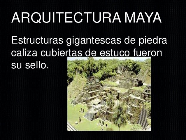 Arquitectura Maya Reparado