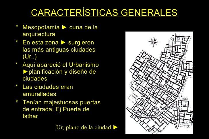 Arquitectura mesopotamia for Caracteristicas de la arquitectura