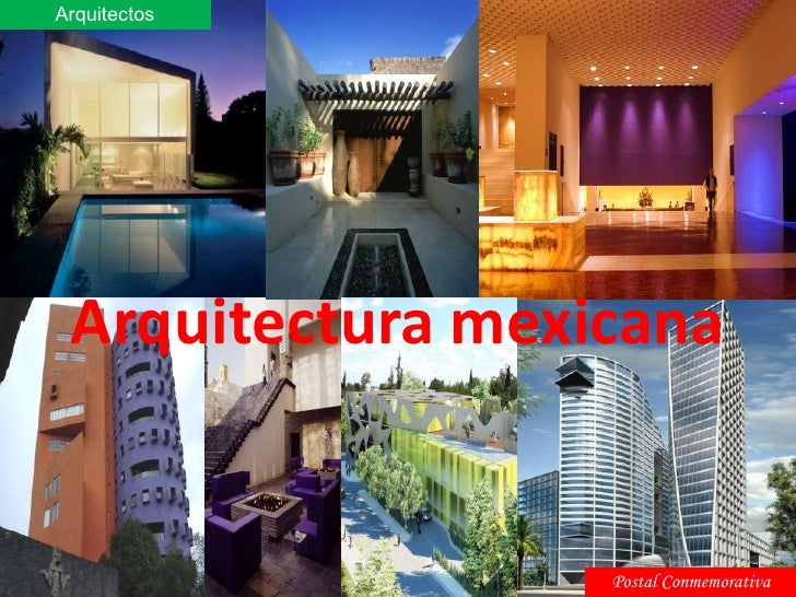 Arquitectos<br />Arquitectura mexicana<br />Postal Conmemorativa<br />