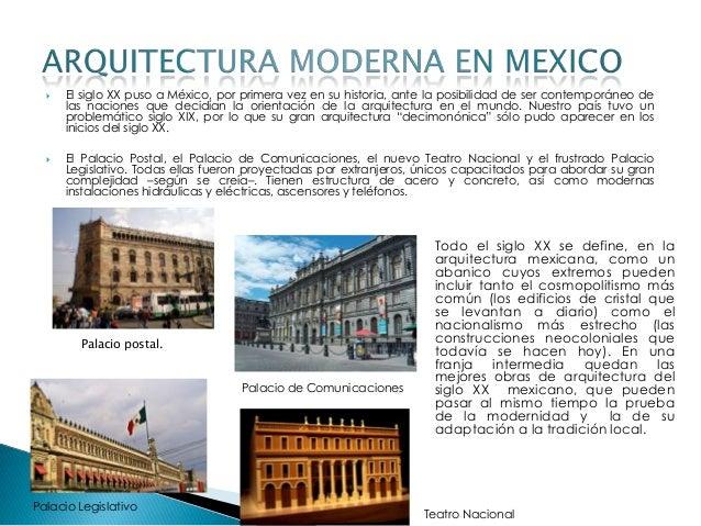 arquitectura moderna 1 3 On arquitectura moderna caracteristicas