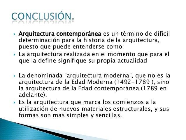 Arquitectura moderna 1 3 for Estilos de arquitectura contemporanea