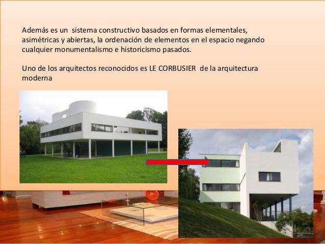 Arquitectura moderna ii diapositiva for Arquitectos reconocidos