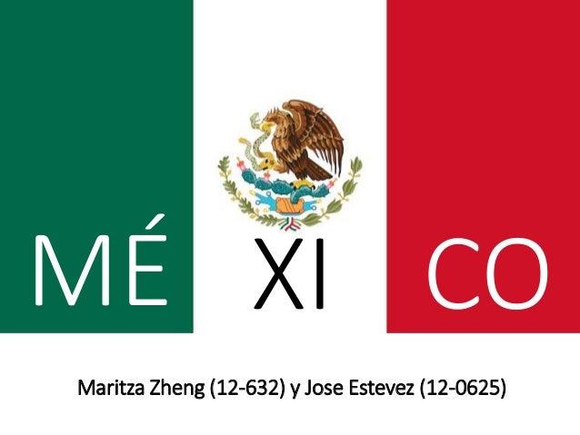 MÉ Maritza Zheng (12-632) y Jose Estevez (12-0625) XI CO