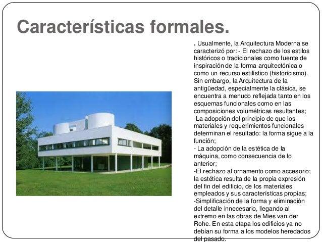 Arquitectura pop y moderna materiales for Caracteristicas de la arquitectura
