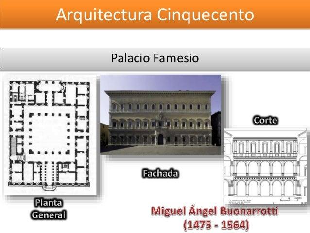 arquitectura quattrocento y cinquecento