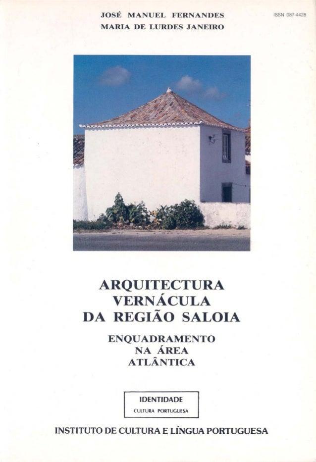 »Arquitectura regiao saloia