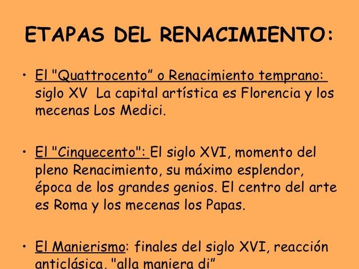 Arquitectura renacentista for Arquitectura quattrocento y cinquecento