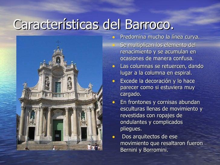 Arquitectura renacentista y barroca for En que consiste la arquitectura