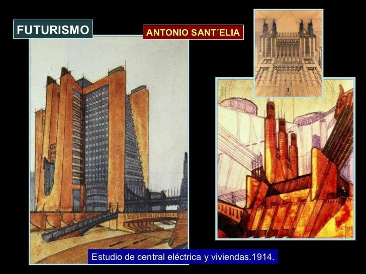 Estudio de central eléctrica y viviendas.1914. FUTURISMO ANTONIO SANT´ELIA